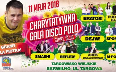"""Charytatywna Gala Disco POLO """"GRAMY DLA PIOTRA""""!"""